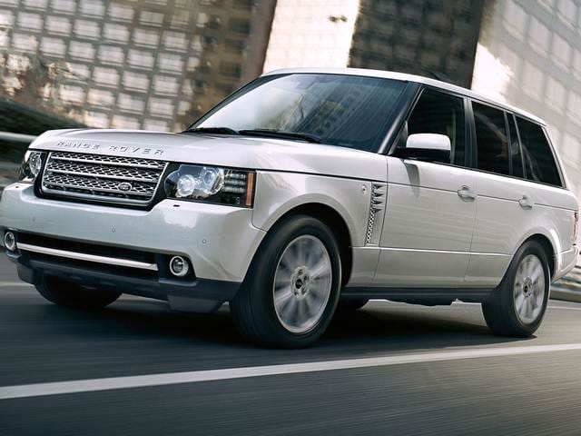 Highest Horsepower SUVS of 2012 - 2012 Land Rover Range Rover