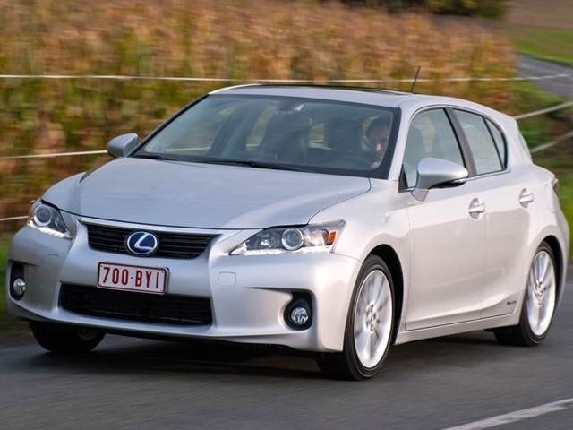 Most Fuel Efficient Sedans of 2012 - 2012 Lexus CT
