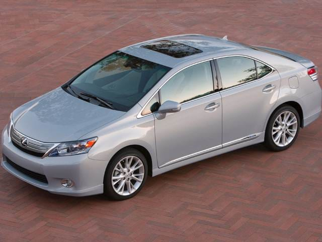 Top Consumer Rated Hybrids of 2012 - 2012 Lexus HS