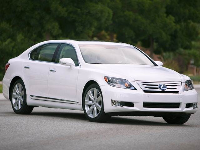 Top Consumer Rated Hybrids of 2012 - 2012 Lexus LS