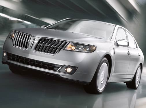 Most Fuel Efficient Sedans of 2012 - 2012 Lincoln MKZ