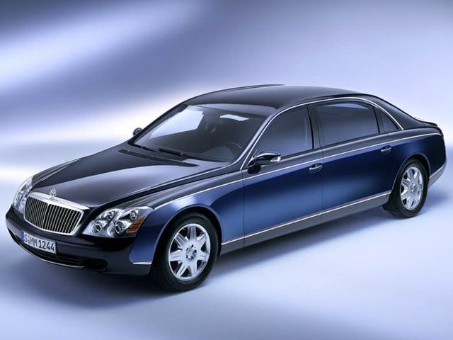 Highest Horsepower Luxury Vehicles of 2012 - 2012 Maybach 62