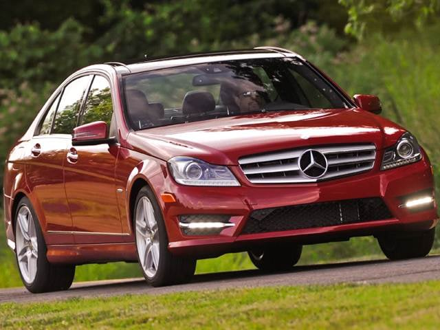 Most Popular Luxury Vehicles of 2012 - 2012 Mercedes-Benz C-Class