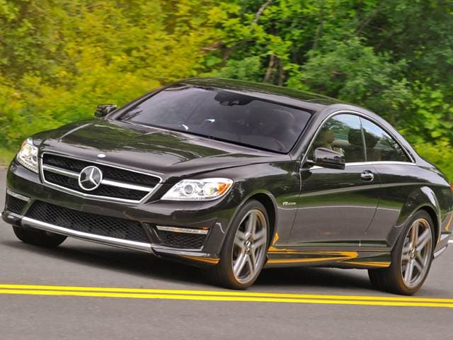 Highest Horsepower Luxury Vehicles of 2012 - 2012 Mercedes-Benz CL-Class