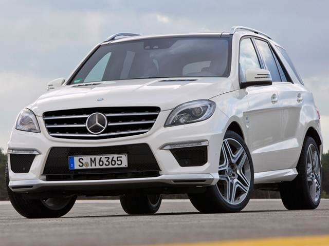 Highest Horsepower SUVS of 2012 - 2012 Mercedes-Benz M-Class