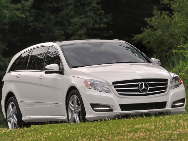Most Popular Wagons of 2012 - 2012 Mercedes-Benz R-Class