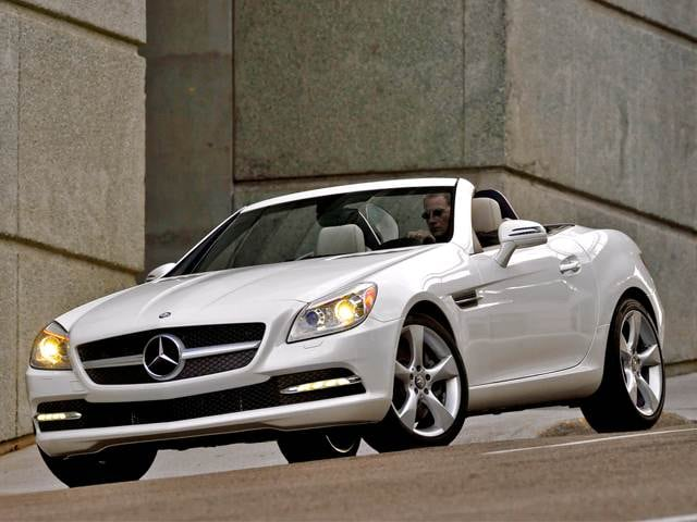 Most Fuel Efficient Convertibles of 2012 - 2012 Mercedes-Benz SLK-Class