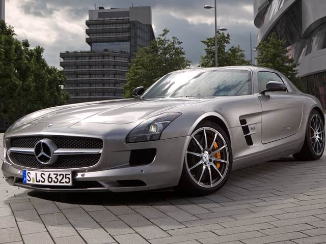 Top Consumer Rated Coupes of 2012 - 2012 Mercedes-Benz SLS-Class