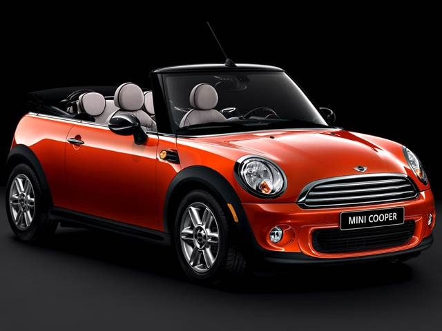 Most Popular Convertibles of 2012 - 2012 MINI Convertible