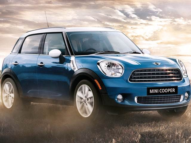 Most Fuel Efficient Crossovers of 2012 - 2012 MINI Countryman