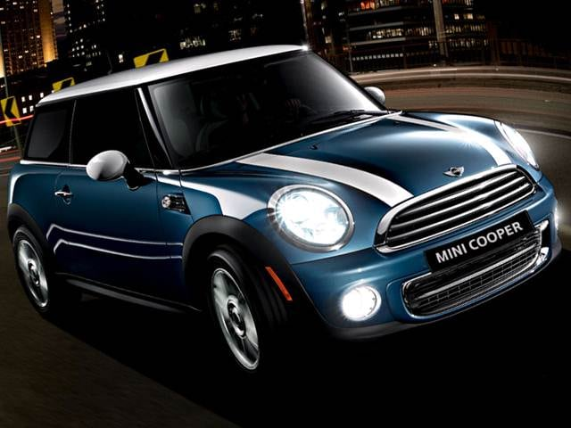 Most Fuel Efficient Coupes of 2012 - 2012 MINI Hardtop