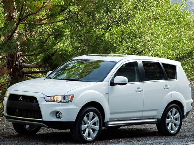 10 Best Used Family Cars Under $15,000 (2015) - 2012 Mitsubishi Outlander