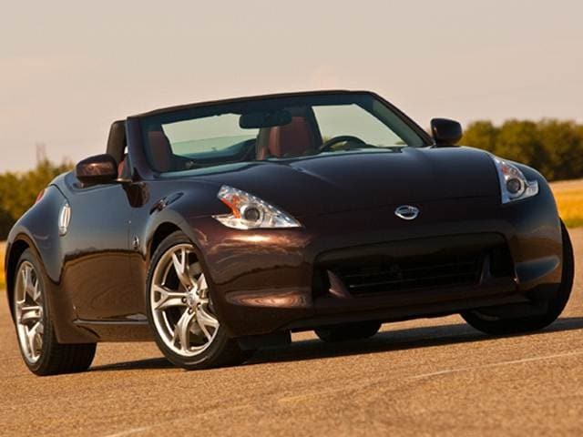 Top Consumer Rated Convertibles of 2012 - 2012 Nissan 370Z
