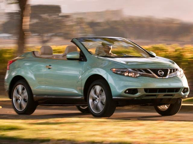 Most Popular Convertibles of 2012 - 2012 Nissan Murano