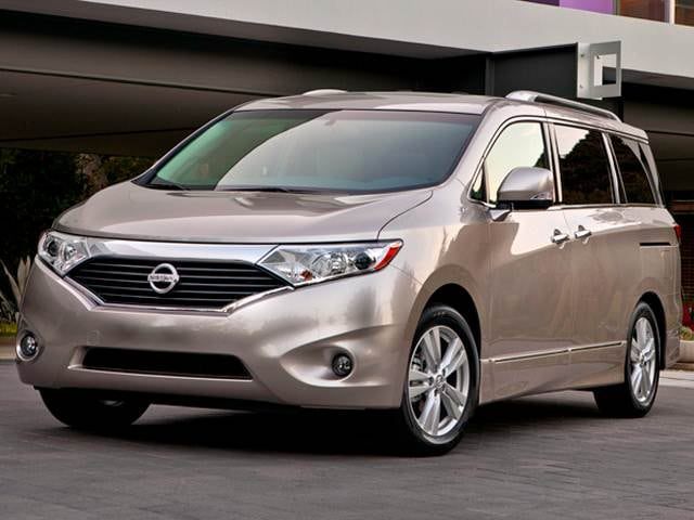 Top Consumer Rated Van/Minivans of 2012 - 2012 Nissan Quest