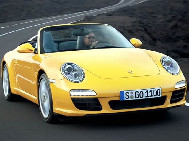 Highest Horsepower Convertibles of 2012 - 2012 Porsche 911