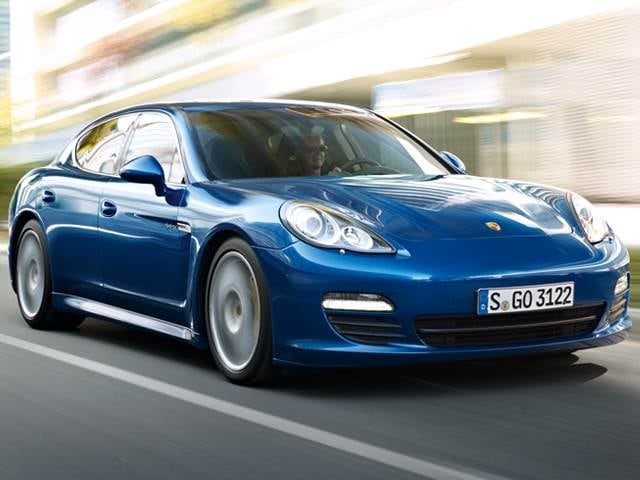 Top Consumer Rated Hybrids of 2012 - 2012 Porsche Panamera