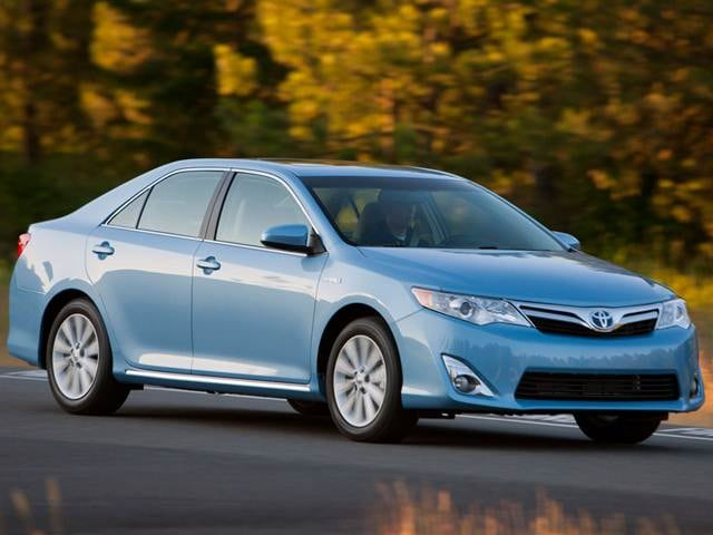 Most Fuel Efficient Hybrids of 2012 - 2012 Toyota Camry