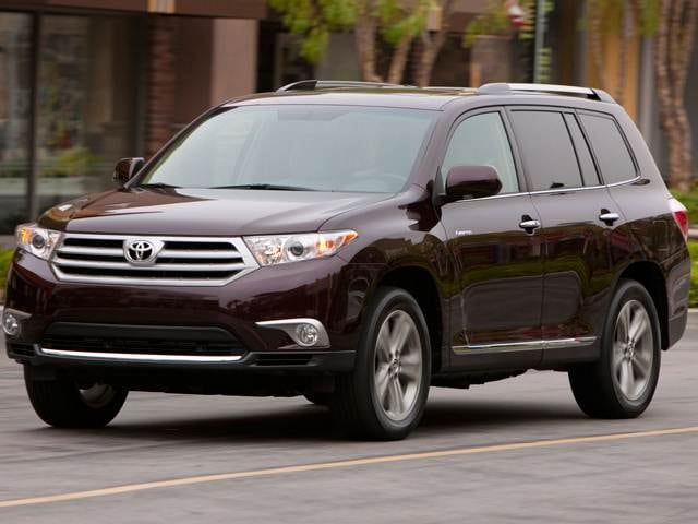 Top Consumer Rated Crossovers of 2012 - 2012 Toyota Highlander
