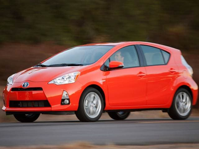 Most Fuel Efficient Hybrids of 2012 - 2012 Toyota Prius c