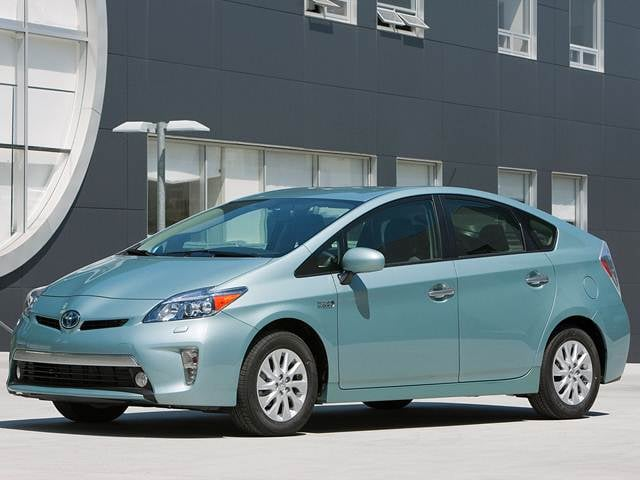 Most Fuel Efficient Sedans of 2012 - 2012 Toyota Prius Plug-in Hybrid