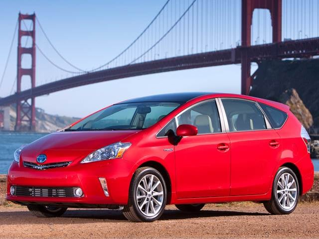 Most Fuel Efficient Hybrids of 2012 - 2012 Toyota Prius v