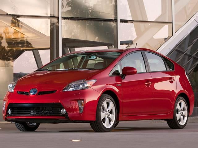 Most Fuel Efficient Hybrids of 2012 - 2012 Toyota Prius