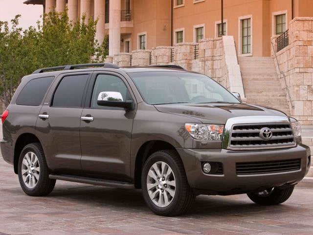 Top Consumer Rated SUVS of 2012 - 2012 Toyota Sequoia