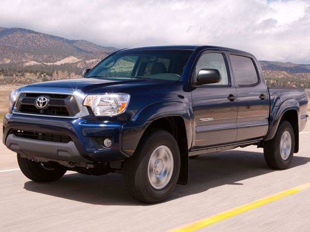 Most Fuel Efficient Trucks of 2012 - 2012 Toyota Tacoma Double Cab