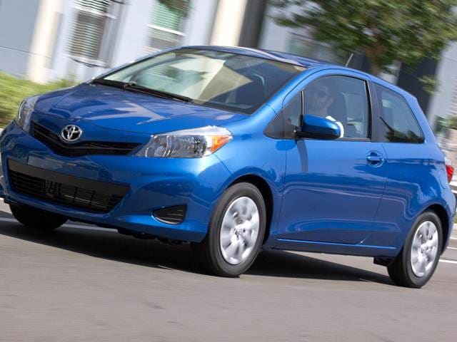 Most Fuel Efficient Coupes of 2012 - 2012 Toyota Yaris