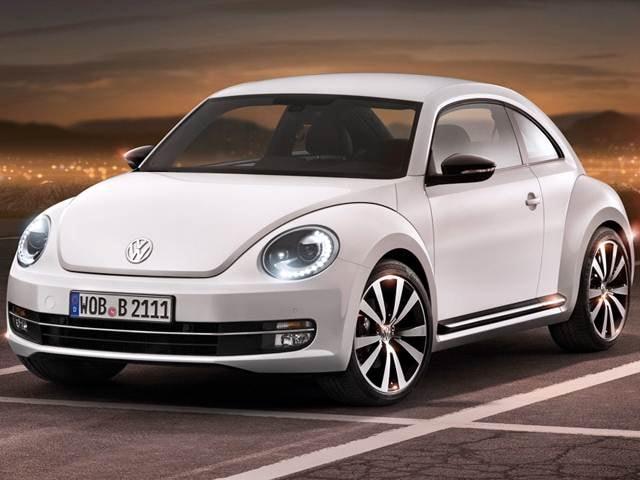 Best Safety Rated Coupes of 2012 - 2012 Volkswagen Beetle