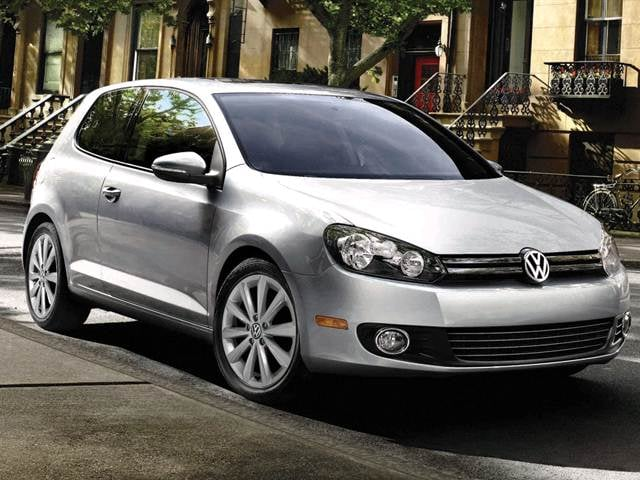 Most Fuel Efficient Coupes of 2012 - 2012 Volkswagen Golf