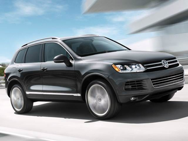 Top Consumer Rated Crossovers of 2012 - 2012 Volkswagen Touareg