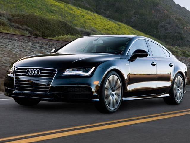 Top Expert Rated Luxury Vehicles of 2013 - 2013 Audi A7