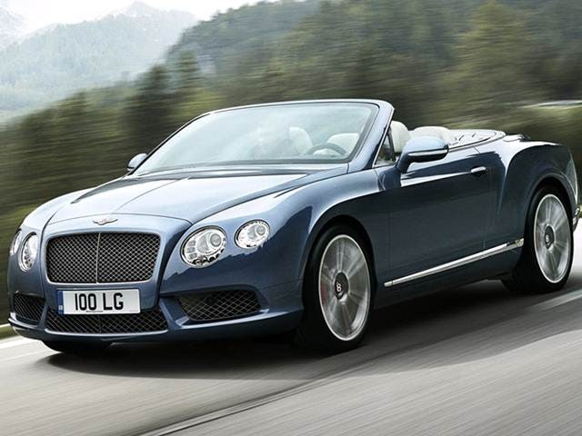 Highest Horsepower Sedans of 2013 - 2013 Bentley Continental