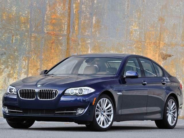 Best Safety Rated Sedans of 2013 - 2013 BMW 5 Series