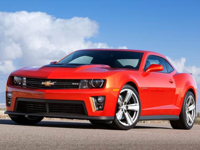 Best Safety Rated Coupes of 2013 - 2013 Chevrolet Camaro