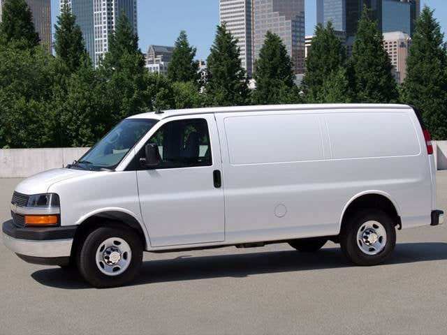 Most Popular Van/Minivans of 2013 - 2013 Chevrolet Express 3500 Cargo
