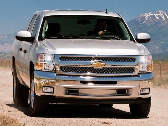 Most Fuel Efficient Trucks of 2013 - 2013 Chevrolet Silverado 1500 Crew Cab