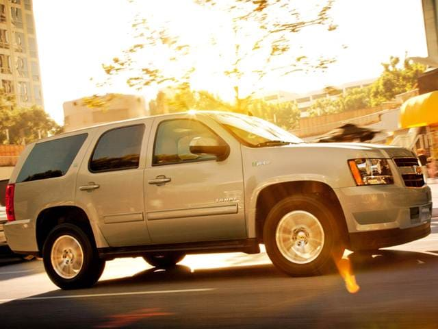 Most Popular Hybrids of 2013 - 2013 Chevrolet Tahoe