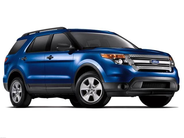 Best Safety Rated SUVS of 2013 - 2013 Ford Explorer