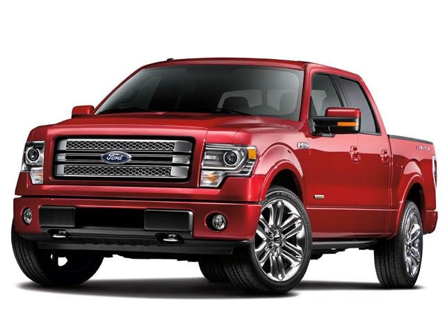 Most Fuel Efficient Trucks of 2013 - 2013 Ford F150 SuperCrew Cab