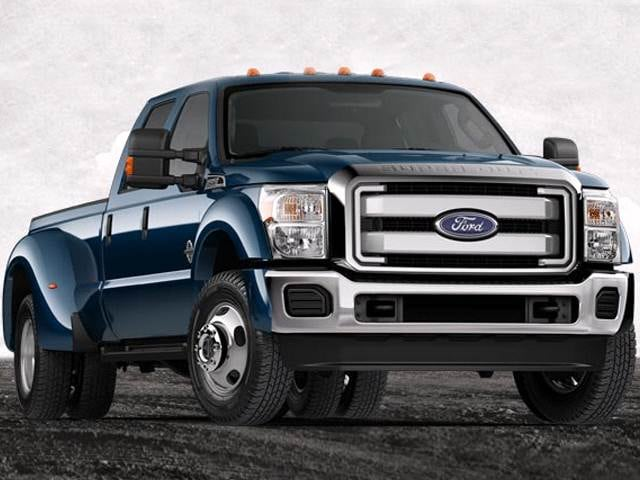 Top Consumer Rated Trucks of 2013 - 2013 Ford F450 Super Duty Crew Cab