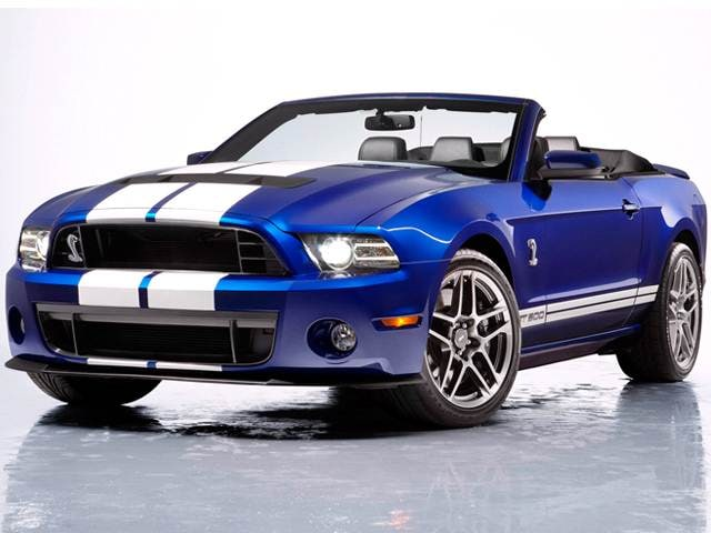 Highest Horsepower Convertibles of 2013 - 2013 Ford Mustang