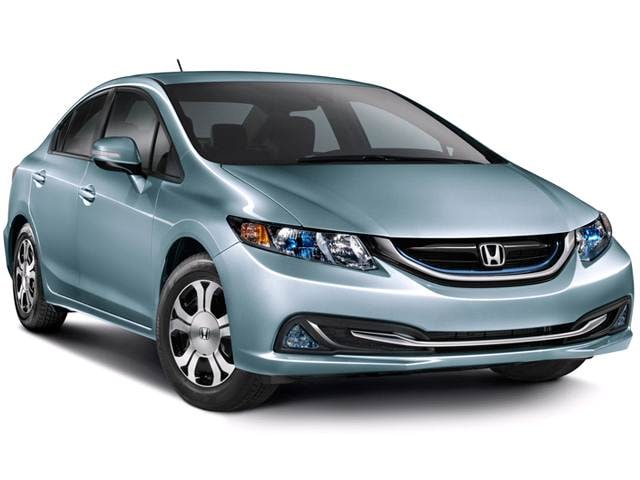 Most Fuel Efficient Hybrids of 2013 - 2013 Honda Civic