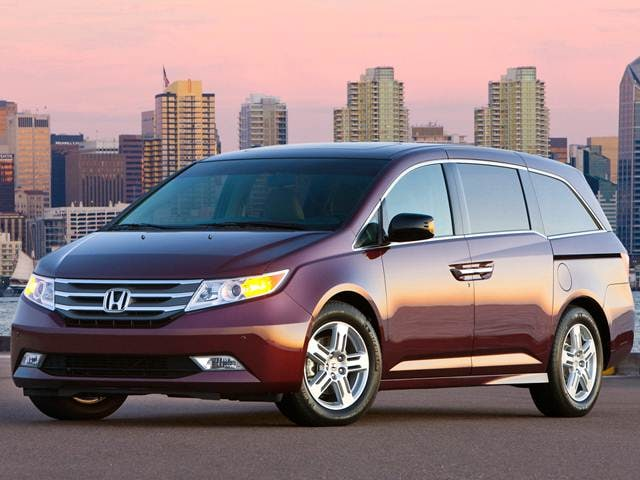 Most Fuel Efficient Van/Minivans of 2013 - 2013 Honda Odyssey
