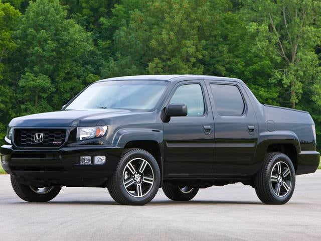 Top Consumer Rated Trucks of 2013 - 2013 Honda Ridgeline