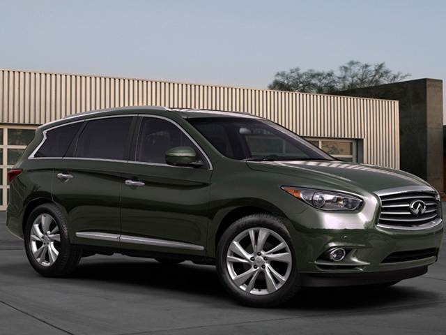 Top Expert Rated Crossovers of 2013 - 2013 INFINITI JX