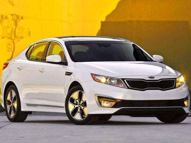 Top Consumer Rated Hybrids of 2013 - 2013 Kia Optima