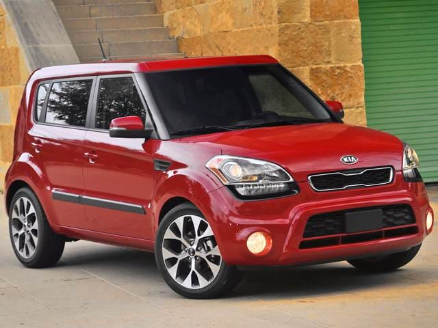 Most Popular Hatchbacks of 2013 - 2013 Kia Soul